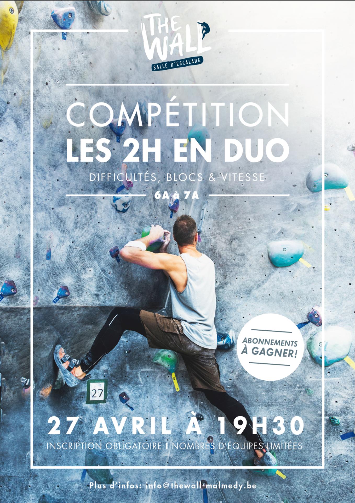 Compétition (Les 2h en duo) – Passé