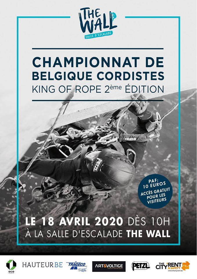 Championnat de Belgique de cordistes